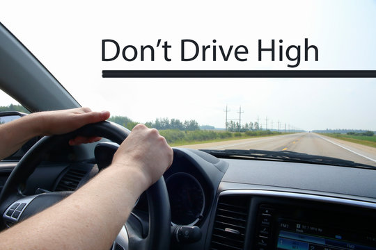 Don't Drive High Conceptual Image