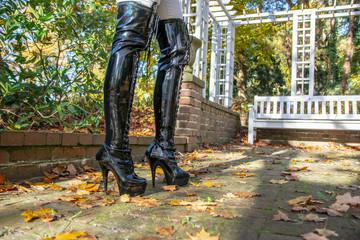 Stiefel / High Heels im Herbst