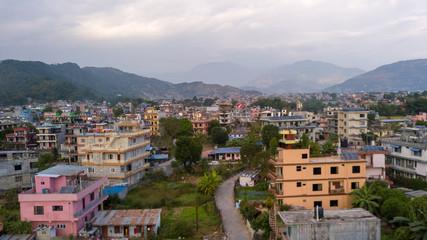 Pokhara city. Nepal