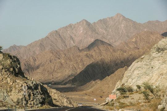 Straße nach Dibba