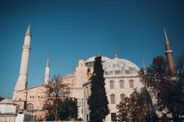 Istanbul, Turkey. Mosque Ayasofya Meydani.