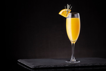 Foto op Canvas Cocktail Refreshing mimosa cocktail