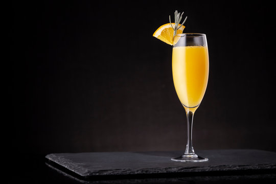 Refreshing mimosa cocktail