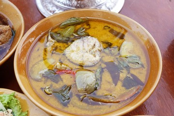 hot catfish curry - Thailand food