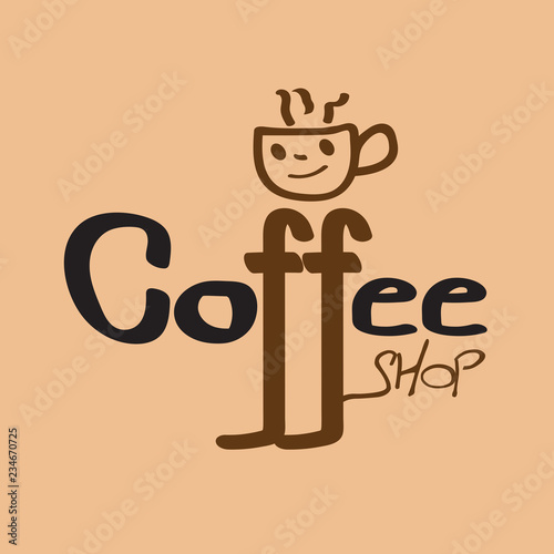 coffee cup icon coffee shop logo design template restaurant and