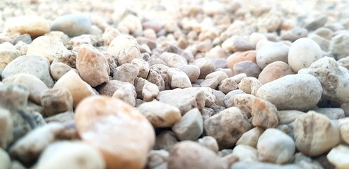 mix color of gravel texture or background