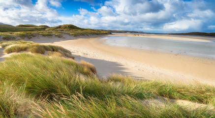 Fototapete - Uig Sands in Scotland