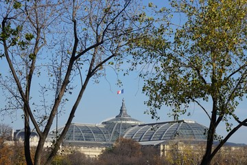 Grand Palais Paris Automne Fototapete