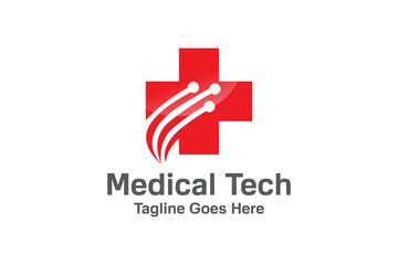 Medical technology logo Template