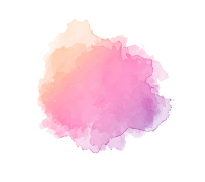 Water color pink and magento