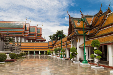 Cloister of the Wat Suthat