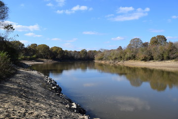 Little Tallahatchie River in Lafayette County Mississippi