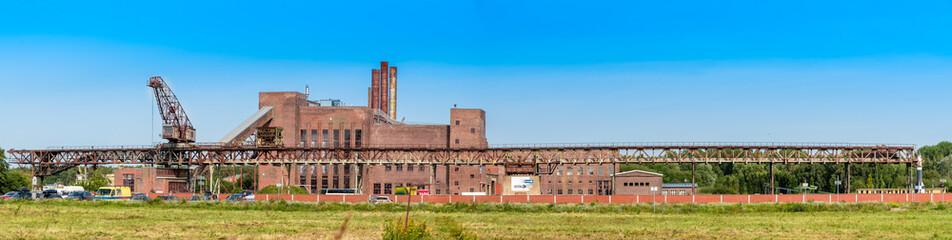 Kraftwerk Peenemünde mit Museum und Rakete