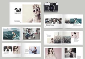 Portfolio Brochure Layout