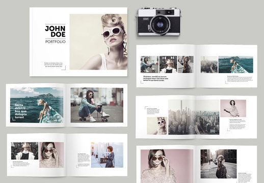 Portfolio Brochure Layout