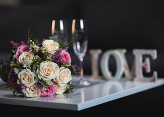 wedding day concept