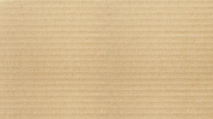 Kraft paper texture. Horizontal stripes for background
