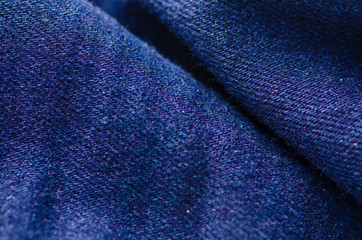 Blue jeans material fabric texture fashion seam fittings macro blur background