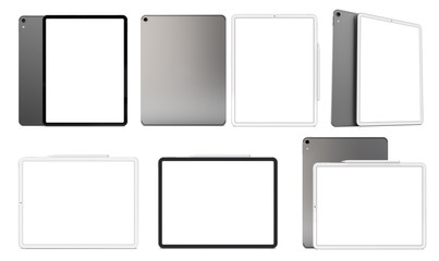 Tablets in the new version.