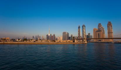 Dubai cityscape in United Arab Emirates