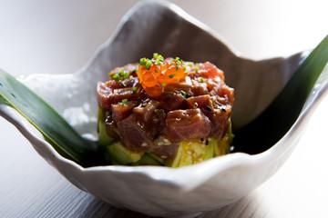 Tuna Tataki Tartar Fresh
