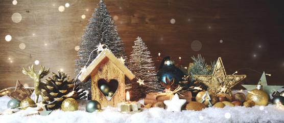 Bilder und videos suchen weihnachtshintergrund - Winterlandschaft dekoration ...