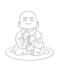 Маленький счастливый Будда