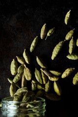 Seeds of cloud forest green cardamom
