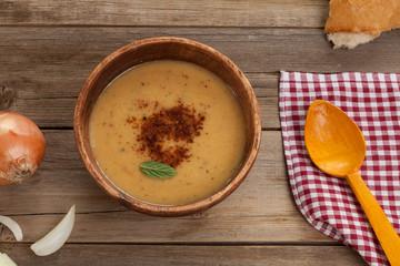 lentil soup menu