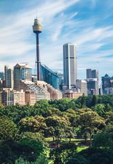 Printed roller blinds Sydney Sydney Australia skyline