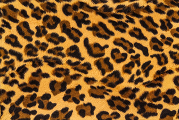 Vintage leopard background