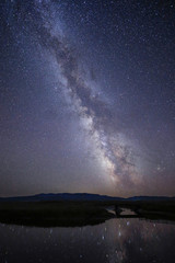 Milky Way over Montana