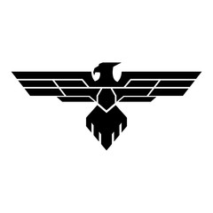 Military eagle logo design