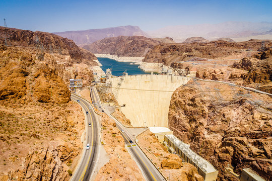 Hoover Dam Hydroelectric power station Arizona Nevada