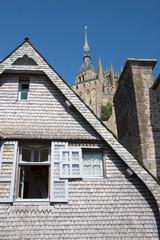 Mont Saint Michel, Normandia, Francia