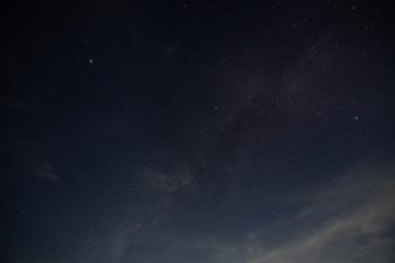 Sky floor at night