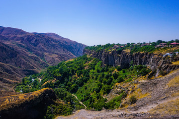 Garni Temple Breathtaking Landscape View