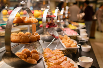 All-inclusive buffet with sweets and desserts