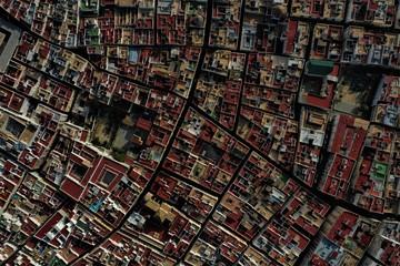 Cadiz in Spanien Luftbilder
