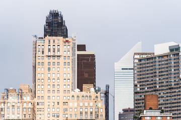 Skyline of Midtown of New York City
