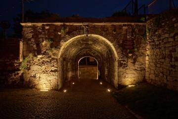 Stone gates of Belgrade fortress
