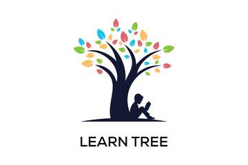 LEARN TREE LOGO DESIGN
