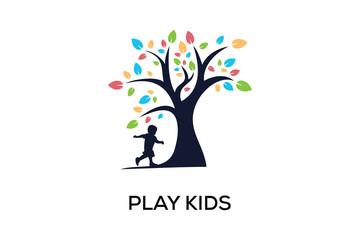 PLAY KIDS LOGO DESIGN