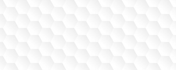 Obraz bright white abstract honeycomb background vector illustration EPS10 - fototapety do salonu