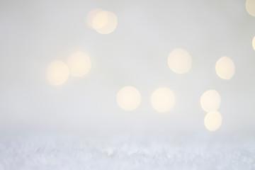 bokeh de luces blanco