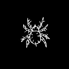 Foto op Plexiglas Uilen cartoon 곤충 일러스트 / 손으로 그린 곤충 스케치