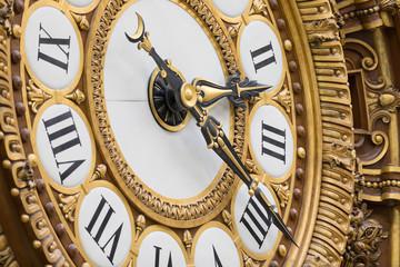 Clock in Gare Musée d'Orsay Wall mural