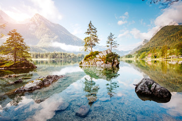 Famous lake Hintersee one of the best places on earth.