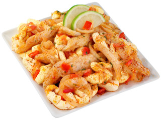 JAMAICAN SALT FISH AND ACKEE CUT OUT