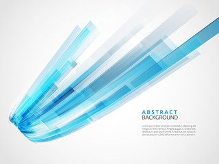 Business abstract blue background. Vector illustration.